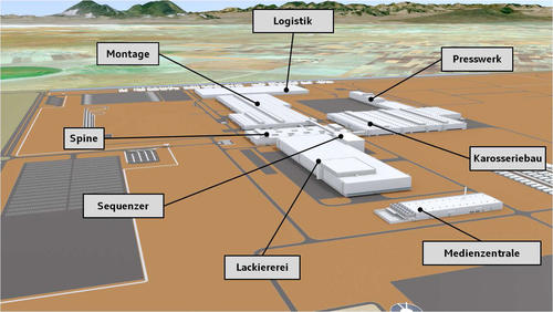AUDI AG: Grundsteinlegung für neues Werk in San José Chiapa/Mexiko