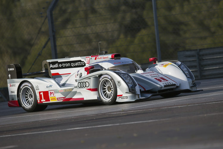 "WEC Spa: Audi presents ""long-tail"" R18"