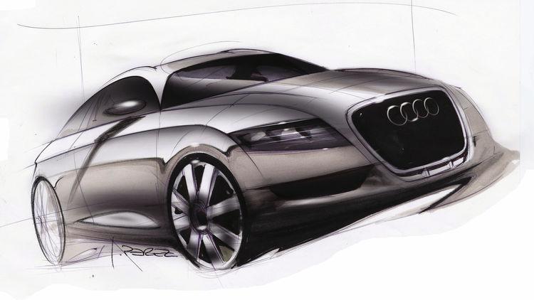 Audi Nuvolari quattro - Design