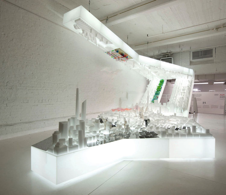 """Audi Urban Future: Project New York"" – visions of five up-and-coming New York architects"