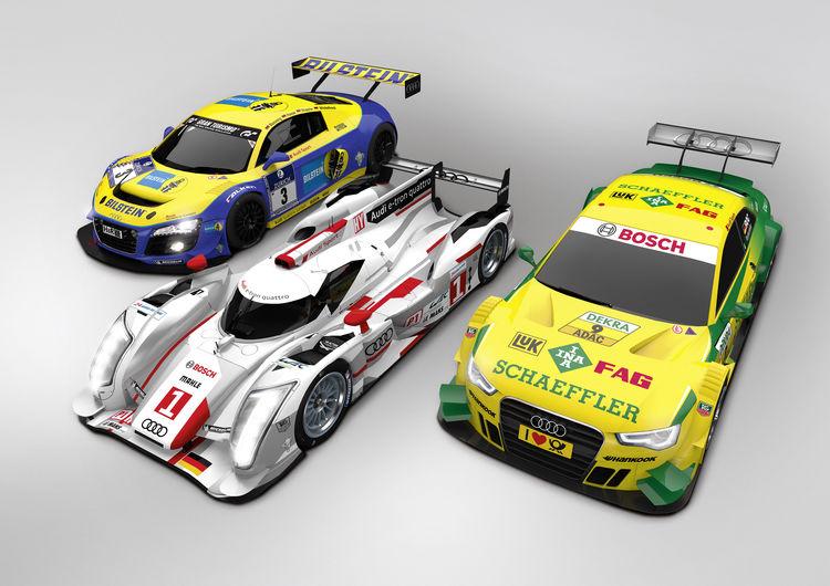 Audi: full speed ahead in motorsport too