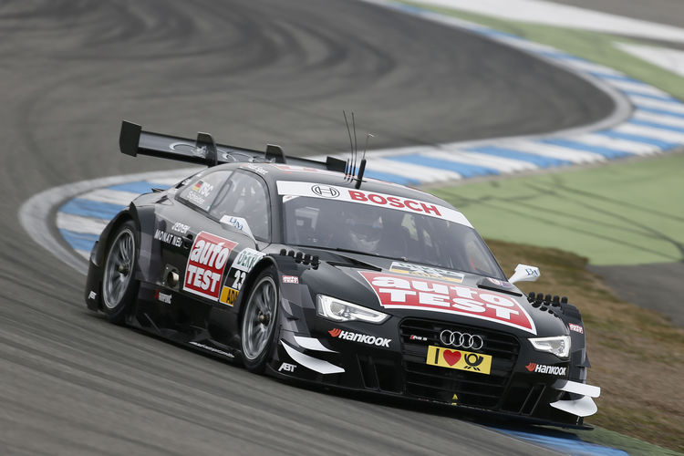 Audi completed four days of testing at Hockenheim