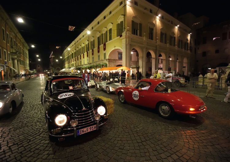 Audi: Mit fünf DKW's bei der Mille Miglia