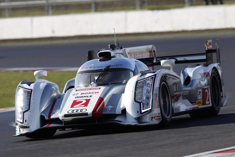 Audi beim WEC-Auftakt in Silverstone in Startreihe zwei und drei