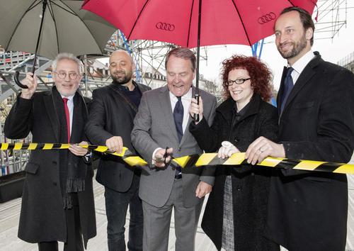 Heute wurde in München die SCHAUSTELLE eröffnet