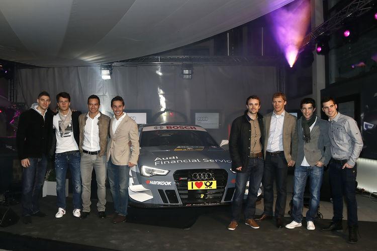 Partytime: die DTM-Familie zu Gast bei Audi