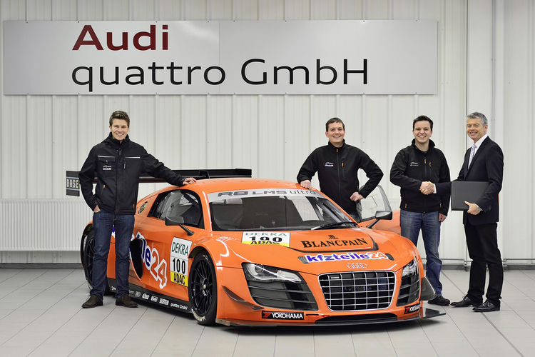 Audi delivers 100th customer race car