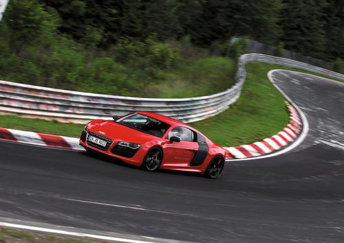 Audi R8 e-tron: Weltrekord auf der Nürburgring Nordschleife am 26. Juni 2012