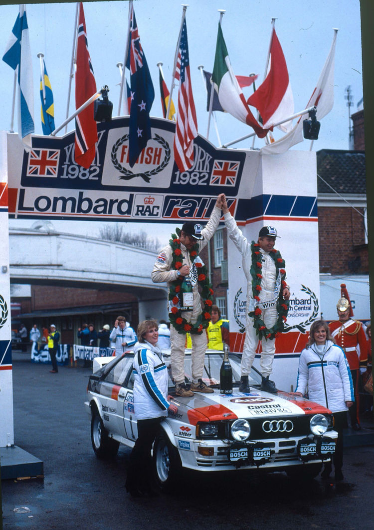 On the road internationally with Audi Tradition