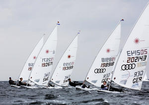 Das Audi Sailing Team Germany in Kiel