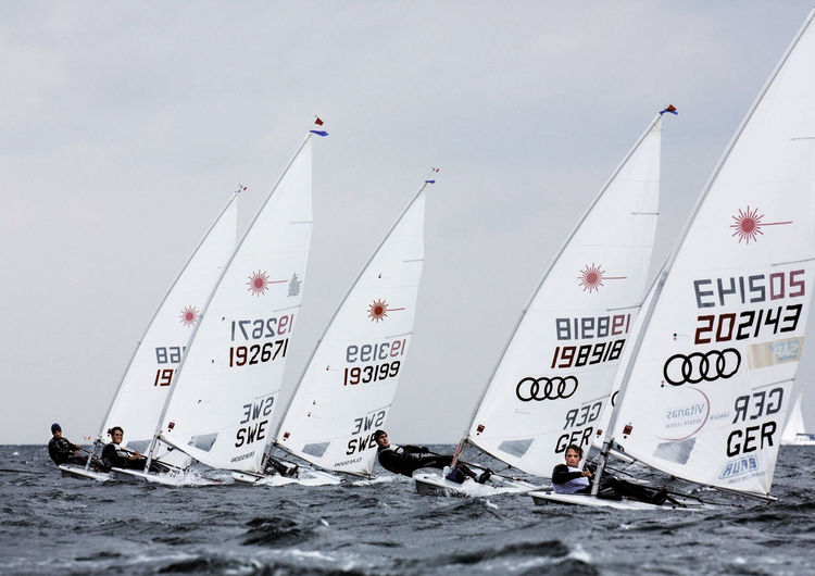 The Audi Sailing Team Germany at Kiel