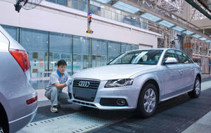 Neue Montagehalle in Changchun/China - Audi A6 Linie