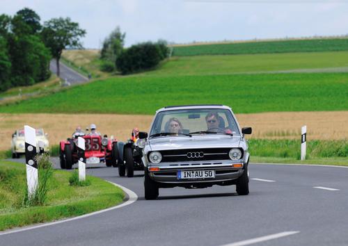 Audi Tradition erneut Hauptsponsor der Donau Classic 2012