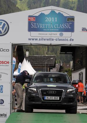 Silvretta E-Auto Rallye 2011