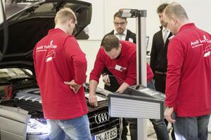 Audi kürt das beste deutsche Service-Team