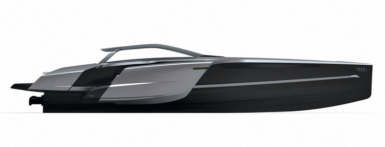 Audi Trimaran – student project for Audi concept design studio in Munich