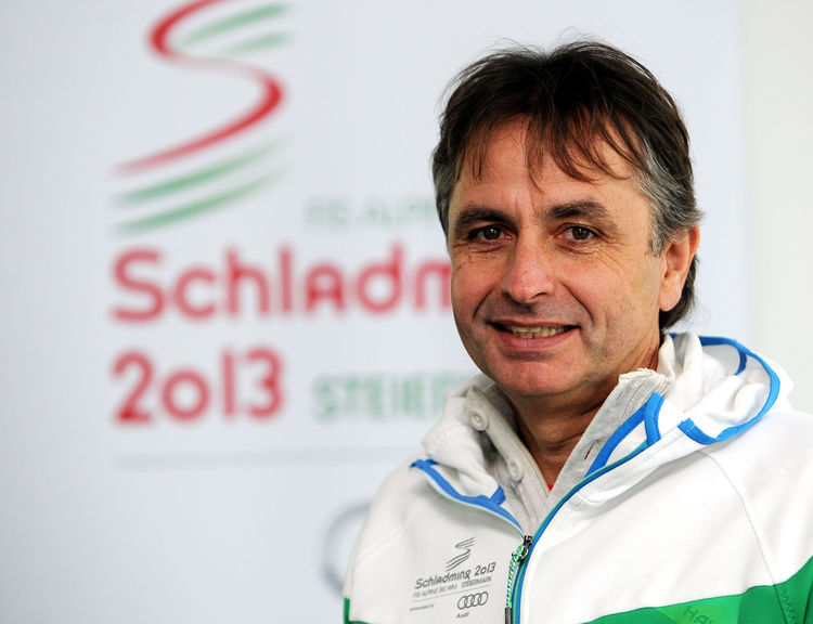 Reinhold Zitz, Head of Organisation at Schladming