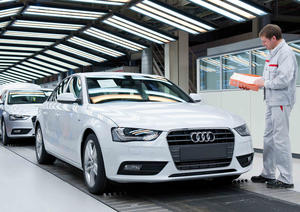 Audi makes a successful start to 2013: Worldwide sales climb 16.3 percent