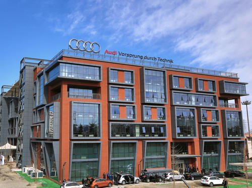 Audi Research & Development-Center Beijing, China