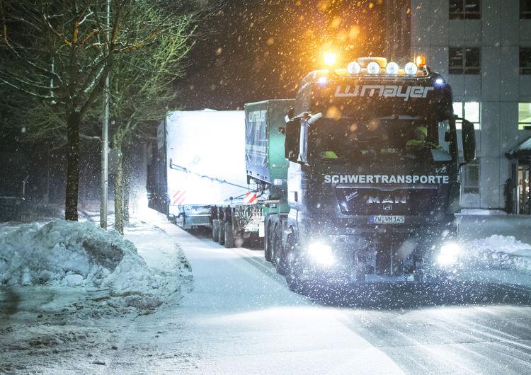 Heavy goods transport Audi e-gas project