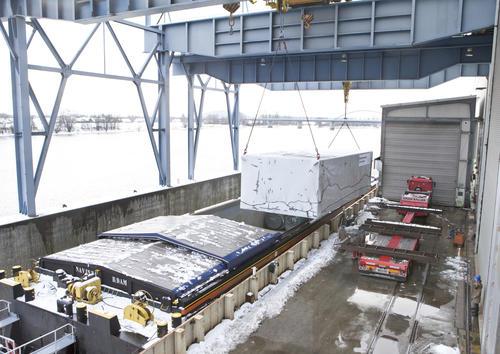 Schwerlasttransport Audi e-gas project