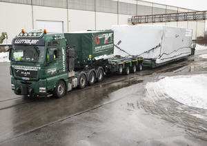 Heavy goods transport Audi e-gas project