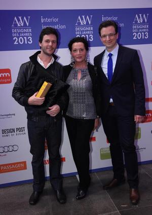 "Designer Miguel Vieira Baptista wins ""Audi Mentor Prize by A&W"""