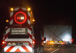 Schwerlasttransport Audi e-gas project