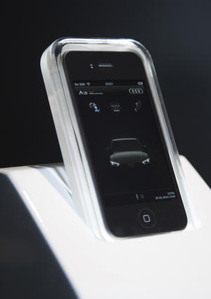 Audi connect: Smartphone – Integration