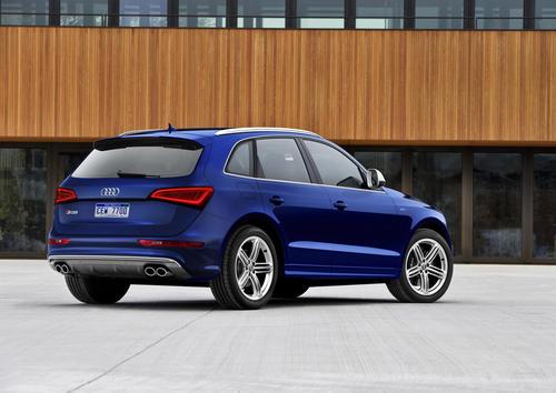 Audi SQ5 (3.0 TFSI USA model)
