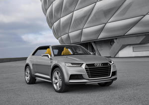 Audi crosslane coupé concept car