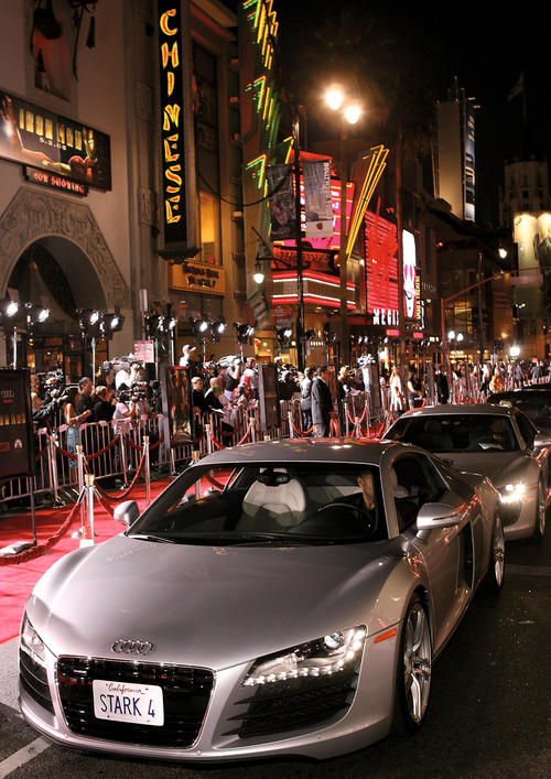"""Iron Man"" Premiere in Los Angeles mit Audi After-Show-Party im Roosevelt Hotel, Hollywood"