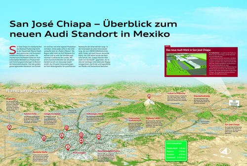 San José Chiapa – Überblick zum neuen Audi Standort in Mexiko