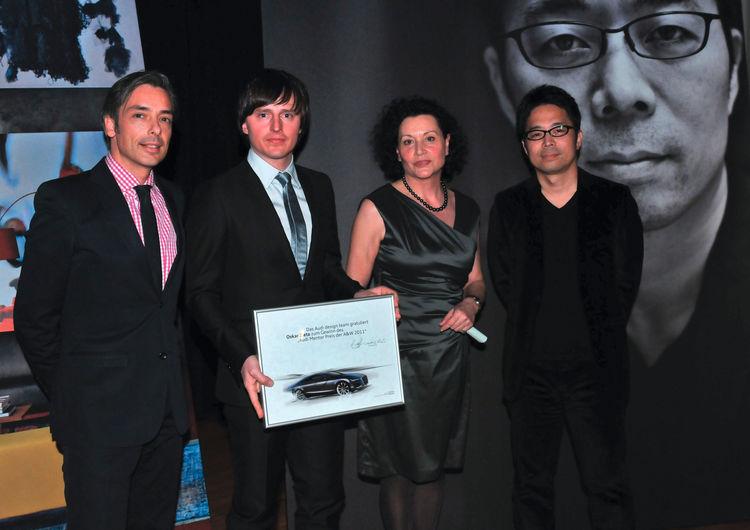 Audi Mentor Preis bei A&W am 16.01.2011 in Köln