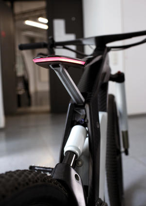 High-end sports machine – the Audi e-bike Wörthersee