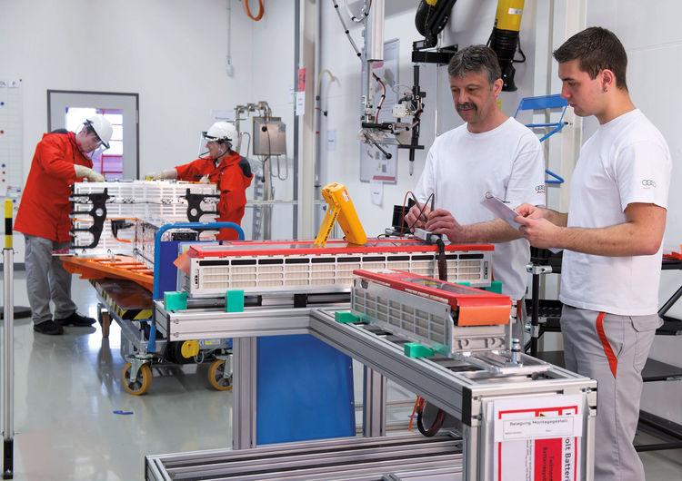 Projekthaus Hochvolt-Batterie