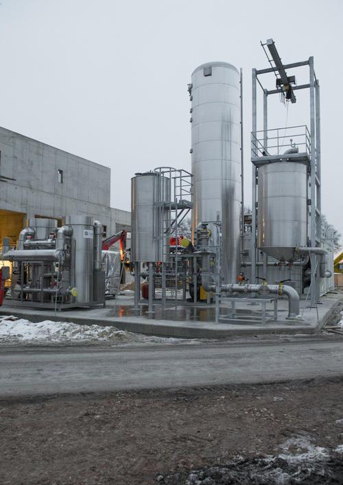 Richtfest der Audi e-gas-Anlage in Werlte/ Emsland