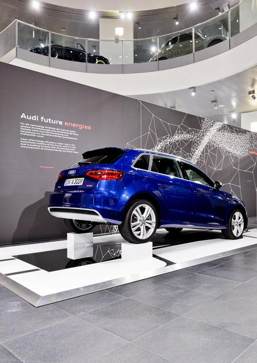 Mobilität der Zukunft im Audi museum mobile