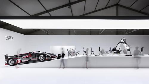 Der Audi Messestand auf der Design Miami