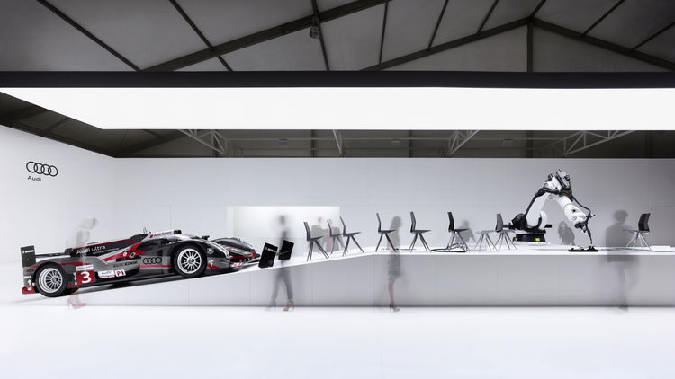 Audi fair stand at Design Miami