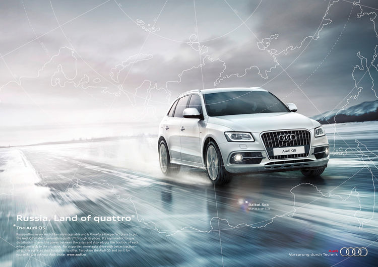 """Land of quattro:"" Audi showcases the homes of all-wheel drive"