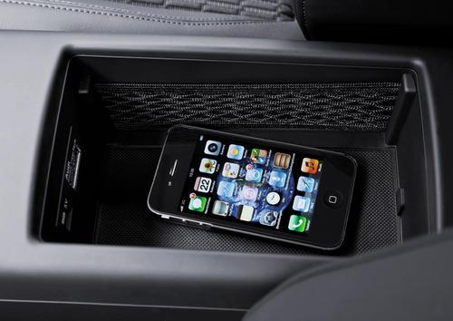 Audi A3 Mittelkonsole mit aktiver Audi Phone Box