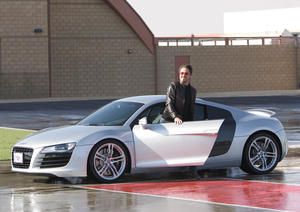 """Iron Man"" and Audi R8: Vorsprung durch Technik"
