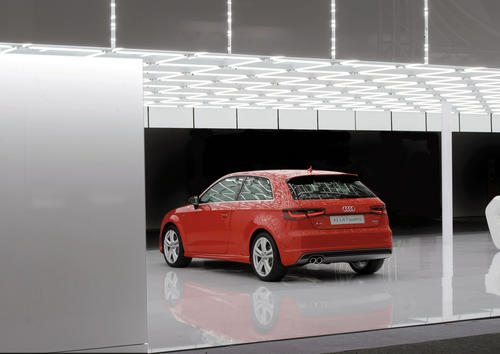 Audi at the CeBIT 2012