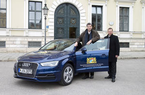 Effizient unterwegs – Audi A3 Sportback e tron für das Bayerische Finanzministerium