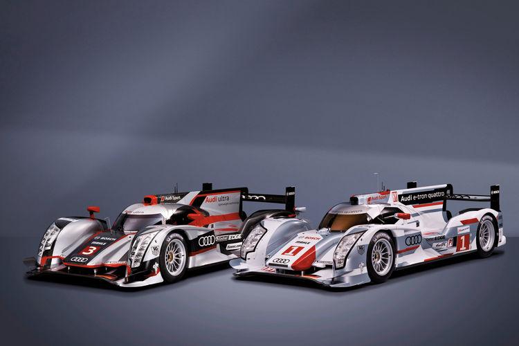 Weltpremiere Audi R18 e-tron quattro