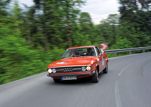Completely new, the Bodensee Klassik: an Audi 100 Coupé S is also taking part on behalf of Audi Tradition.