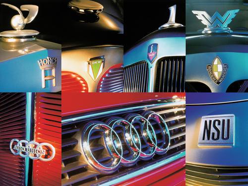 Wurzeln der Audi Historie: die Marken Audi, DKW, Horch, Wanderer, Auto Union und NSU.