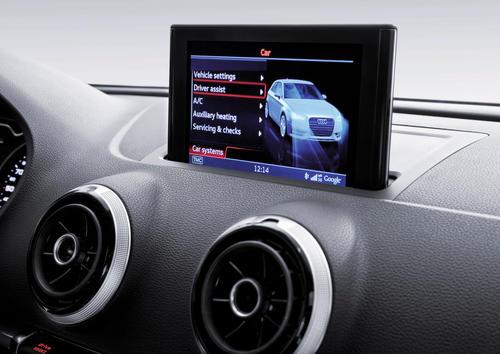 Audi A3 MMI Display