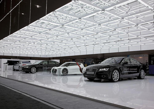 Audi auf der CES 2012